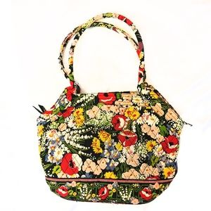 Vera Bradley Quilted Poppy Fields Tote